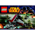 LEGO Kashyyyk Troopers Set 75035 Instructions