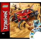 LEGO Katana 4X4 Set 70675 Instructions