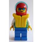 LEGO Kayaker with Life Jacket Minifigure