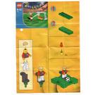 LEGO Kick 'n' Score Set (Kabaya) 1428-1 Instructions