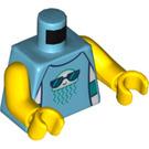 LEGO Kid with Towel and Swim Trunks Minifig Torso (973 / 76382)