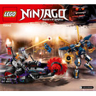 LEGO Killow vs. Samurai X Set 70642 Instructions