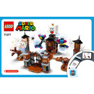 LEGO King Boo and the Haunted Yard Set 71377 Instructions