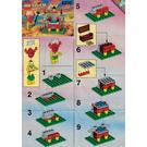 LEGO King Kahuka Set 6236 Instructions