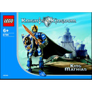 LEGO King Mathias Set 8790 Instructions