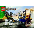 LEGO King's Battle Chariot Set 7078 Instructions