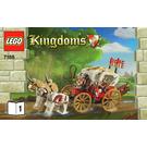LEGO King's Carriage Ambush Set 7188 Instructions