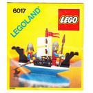 LEGO King's Oarsmen Set 6017 Instructions