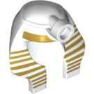 LEGO King Tut Minifig Pharoah Headdress Nemes Type 2 (29155)