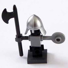 LEGO Kingdoms Advent Calendar Set 7952-1 Subset Day 15 - Jousting Dummy with Helmet and Halberd