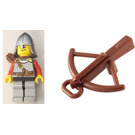 LEGO Kingdoms Advent Calendar Set 7952-1 Subset Day 21 - Lion Knight Scale Mail with Quiver and Crossbow