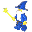 LEGO Kingdoms Advent Calendar Set 7952-1 Subset Day 24 - Blue Wizard with Wand