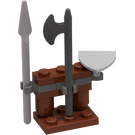 LEGO Kingdoms Advent Calendar Set 7952-1 Subset Day 3 - Weapons Rack