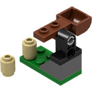 LEGO Kingdoms Advent Calendar Set 7952 Subset Day 20 - Catapult