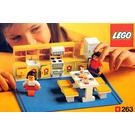 LEGO Kitchen Set 263-1