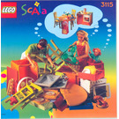 LEGO Kitchen Set 3115 Instructions