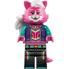LEGO Kitten Keytarist Minifigure