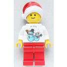 LEGO Kladno Factory Employees Christmas Gift Minifigure