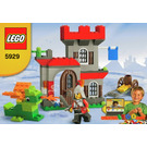 LEGO Knight and Castle Building Set 5929 Instructions