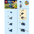 LEGO Knight's Cycle Set 30371 Instructions