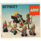 LEGO Knight's Procession Set 6077-1 Instructions