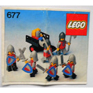 LEGO Knight's Procession Set 677 Instructions