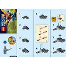 LEGO Knighton Hyper Cannon Set 30373 Instructions