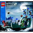 LEGO Knights' Attack Barge Set 8801 Instructions