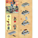 LEGO Knights' Catapult Set 4816 Instructions