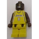 LEGO Kobe Bryant, Los Angeles Lakers Minifigure Home Uniform, #8