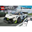 LEGO Koenigsegg Jesko Set 76900 Instructions