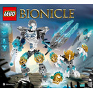LEGO Kopaka and Melum - Unity set 71311 Instructions