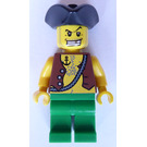 LEGO Kraken Attackin' Pirate with Anchor Tattoo Minifigure