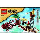 LEGO Kraken Attackin' Set 6240 Instructions