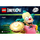 LEGO Krusty Fun Pack Set 71227 Instructions