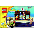 LEGO Krusty Krab Adventures Set 3833 Instructions
