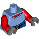 LEGO Krusty Krab Torso With Blue Pants and Belt (973 / 76382 / 76382)