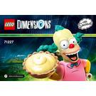 LEGO Krusty Set 71227 Instructions