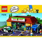 LEGO Kwik-E-Mart Set 71016 Instructions