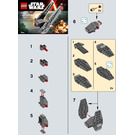 LEGO Kylo Ren's Command Shuttle Set 30279 Instructions