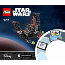 LEGO Kylo Ren's Shuttle Microfighter Set 75264 Instructions