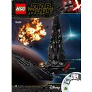 LEGO Kylo Ren's Shuttle Set 75256 Instructions
