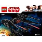 LEGO Kylo Ren's TIE Fighter Set 75179 Instructions