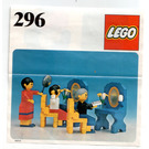 LEGO Ladies' Hairdressers Set 296 Instructions