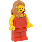 LEGO Lady in Red Minifigure