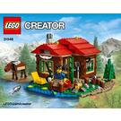 LEGO Lakeside Lodge Set 31048 Instructions