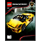LEGO Lamborghini Gallardo LP 560-4 Set 8169 Instructions