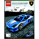 LEGO Lamborghini Polizia Set 8214 Instructions