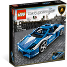 LEGO Lamborghini Polizia Set 8214 Packaging