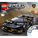 LEGO Lamborghini Urus ST-X & Huracán Super Trofeo EVO  Set 76899 Instructions